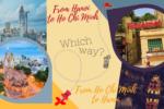 Drive Ho Chi Minh to Hanoi or Hanoi to Ho Chi Minh