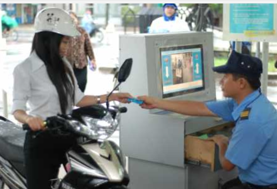 Parking security in Vietnam