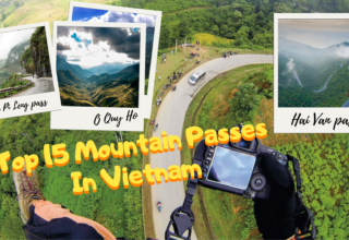 Top 15 Mountain Passes In Vietnam