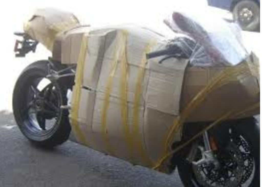Motorbike Shipping Prepare