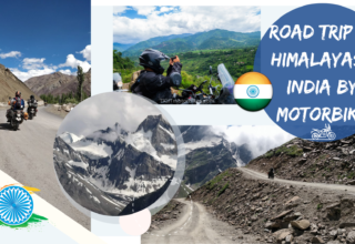 The Himalayas by motorbike