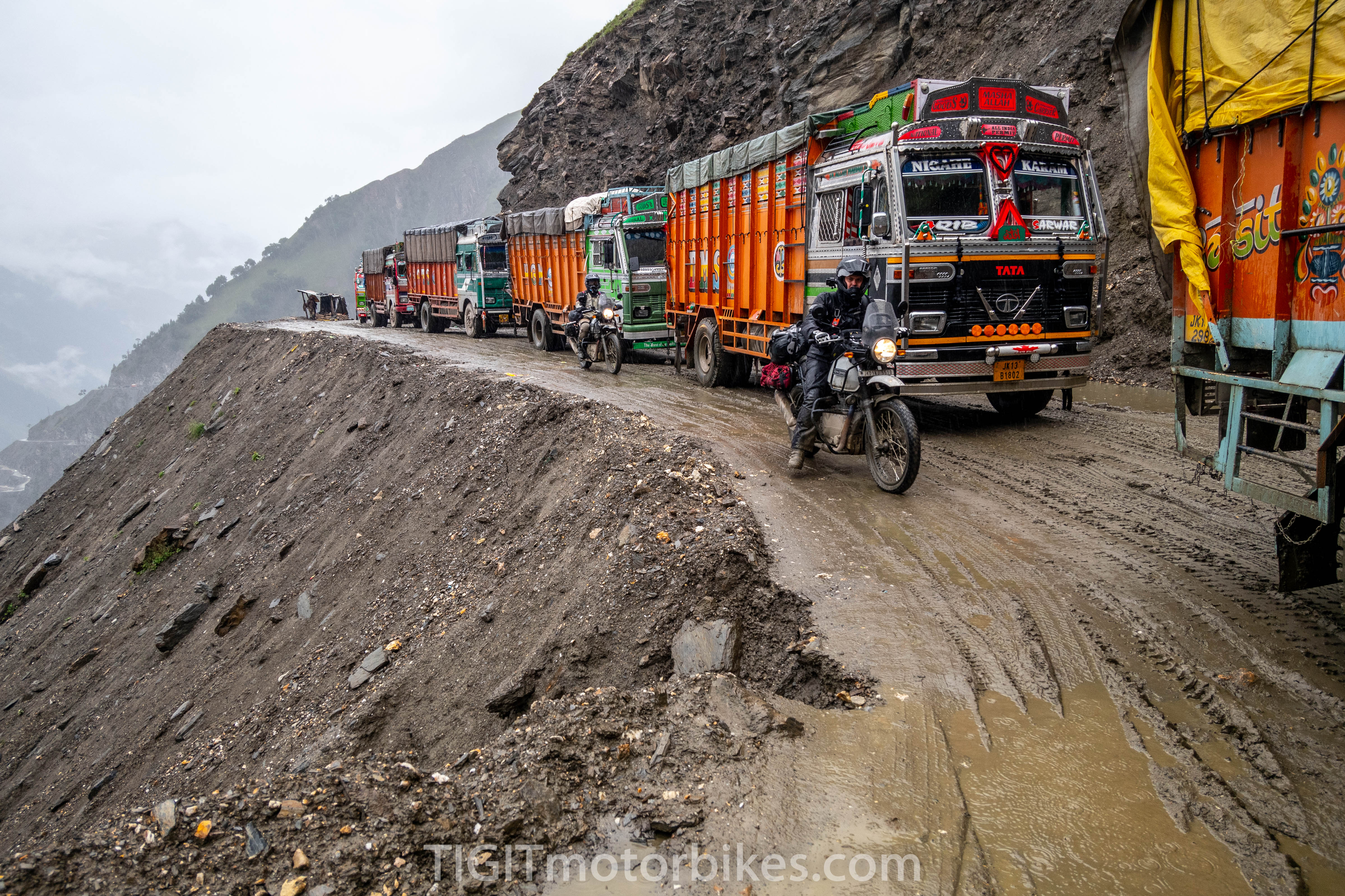 Himalayan Roads are crazy