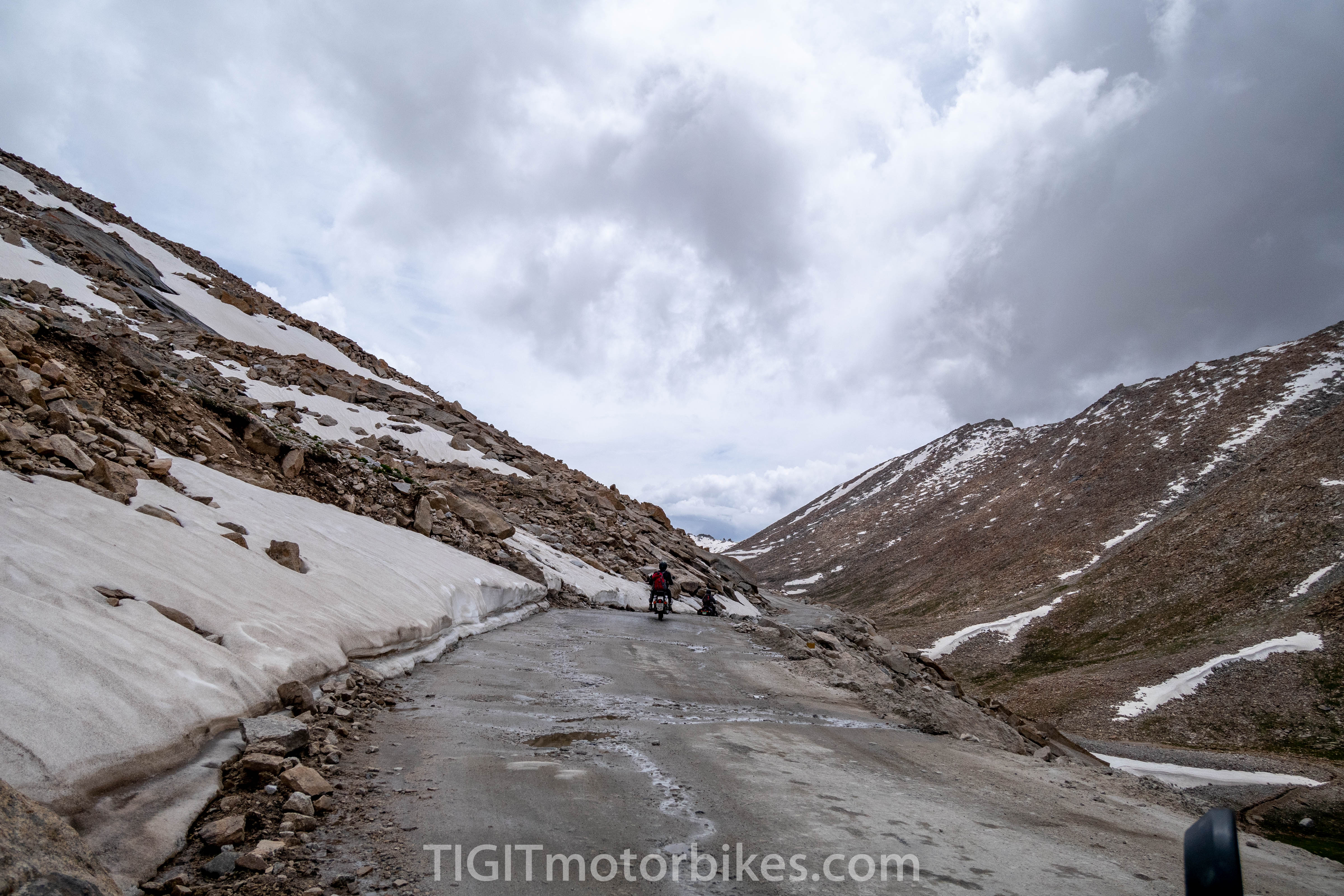 Crazy roads in the Himalayas