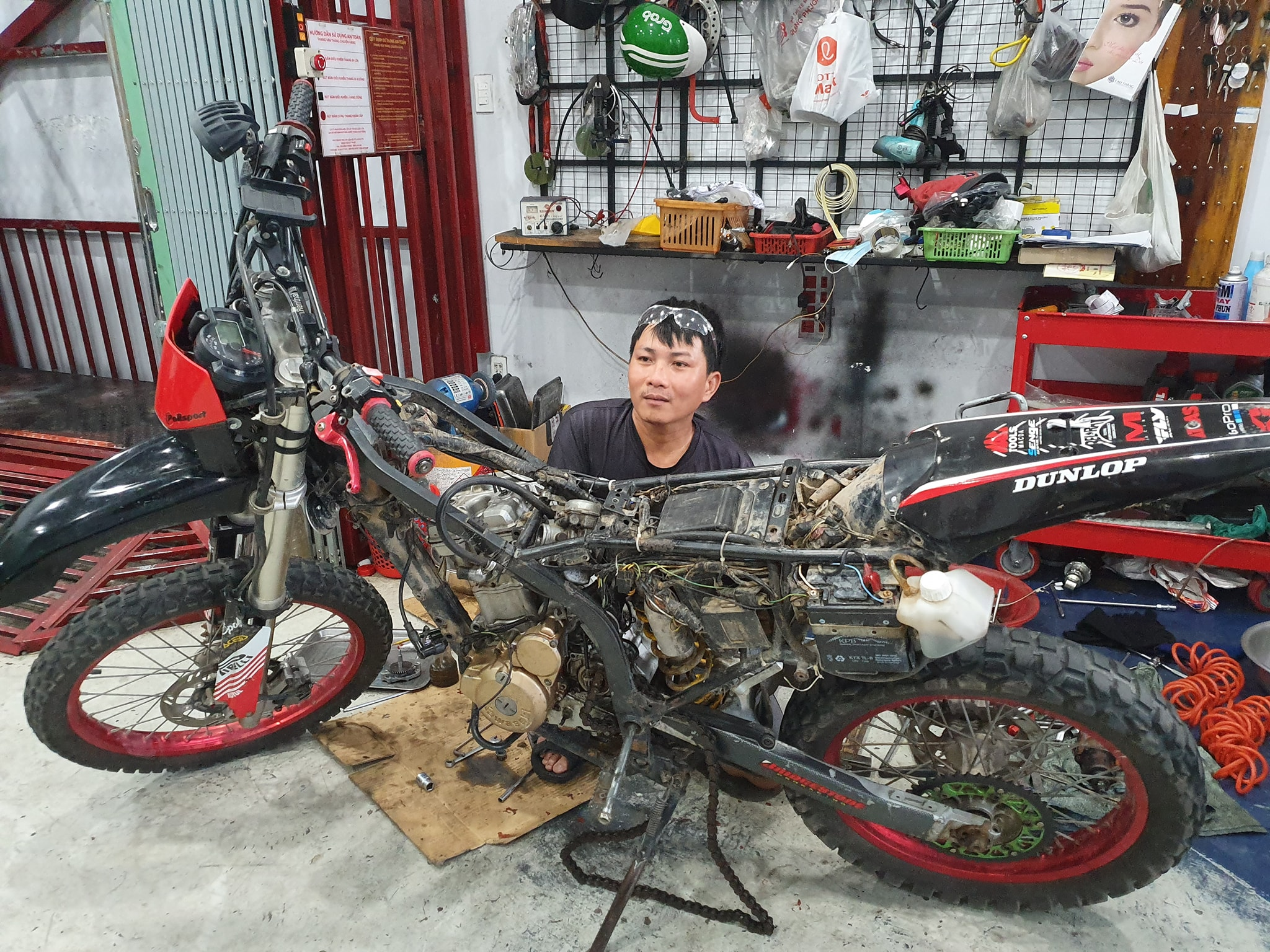 Vietnamese mechanic