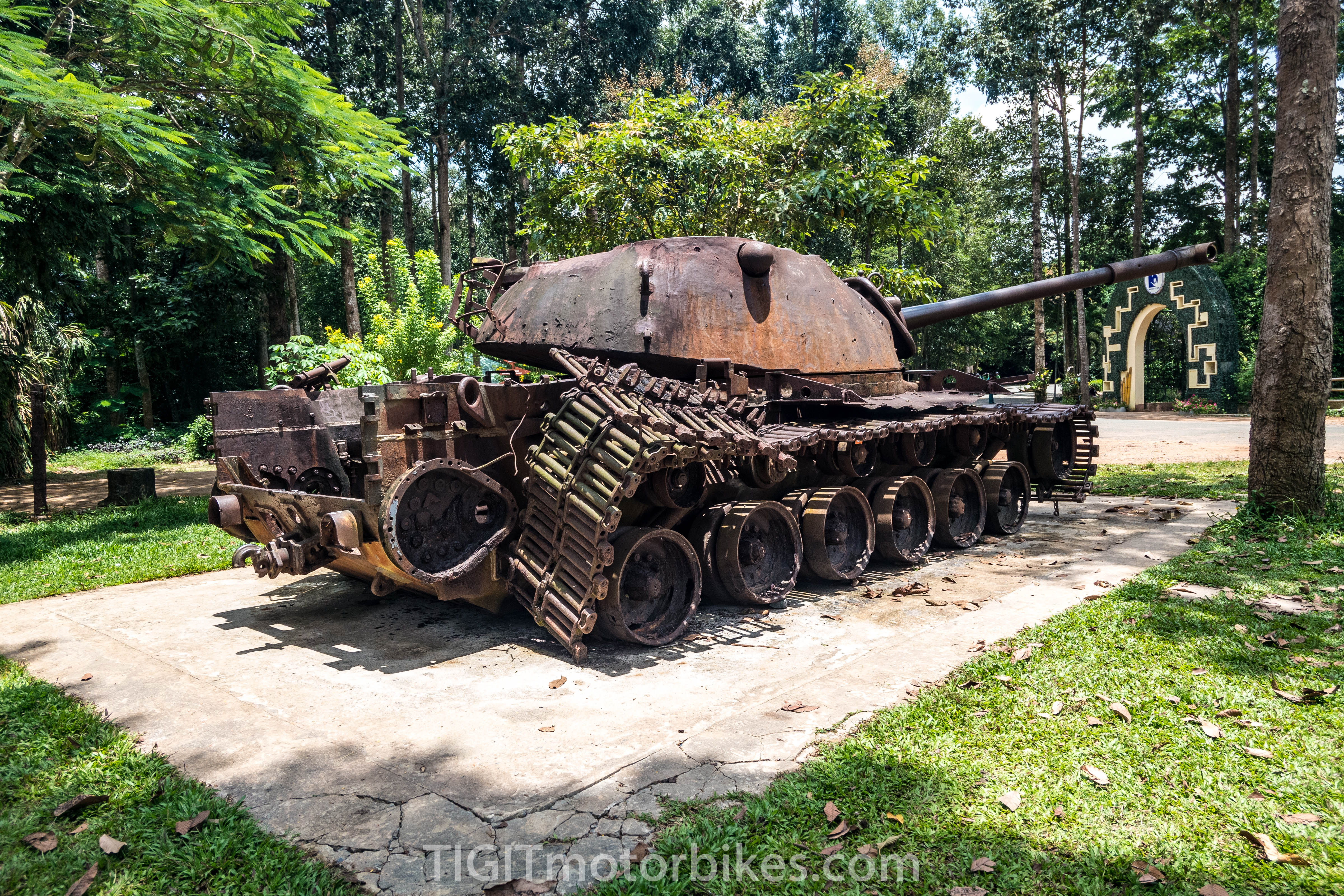 Cu Chi Tunnel Tank
