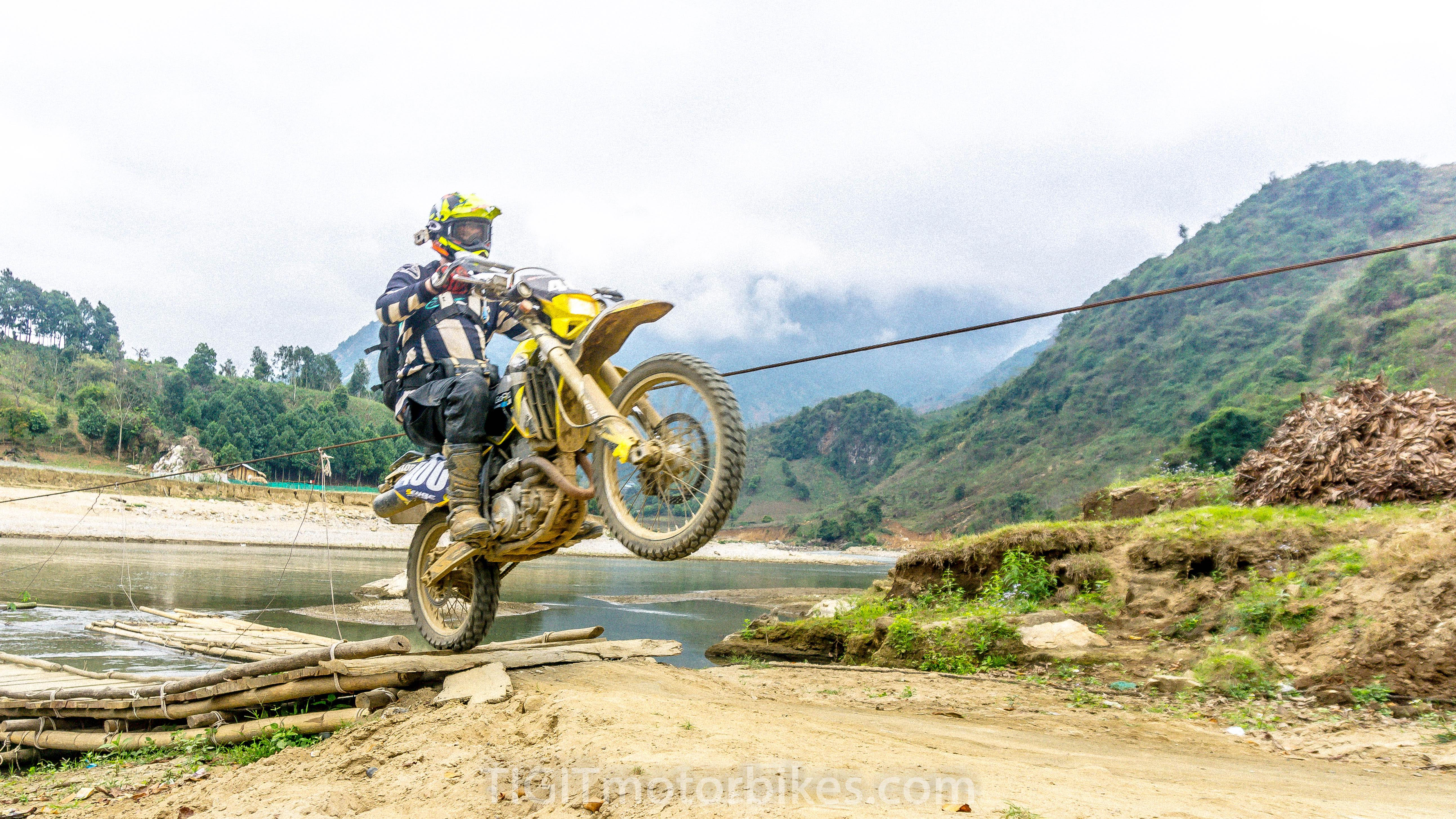 off-road motorbike Vietnam