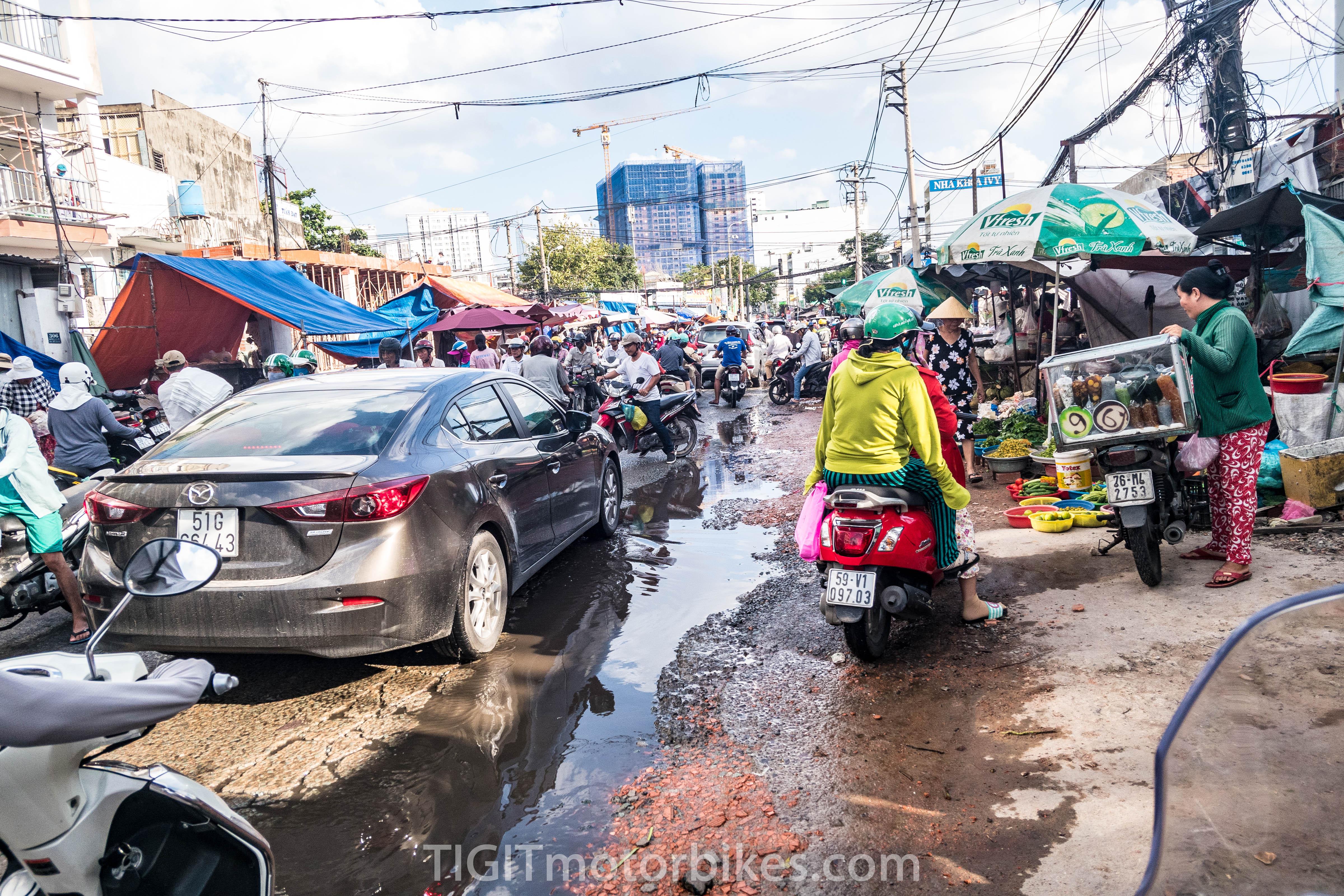 No escaping Saigon traffic
