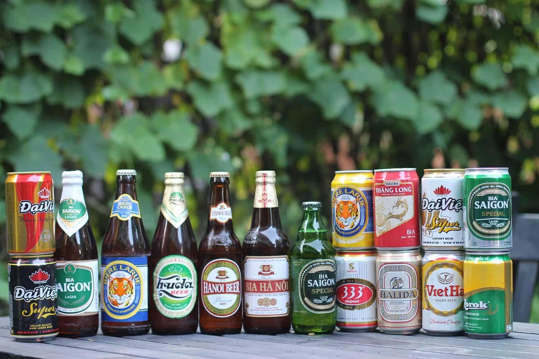 Vietnamese beers