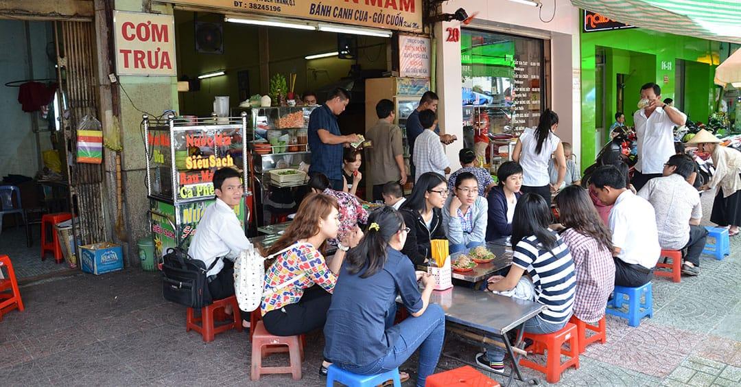 Vietnam lunch