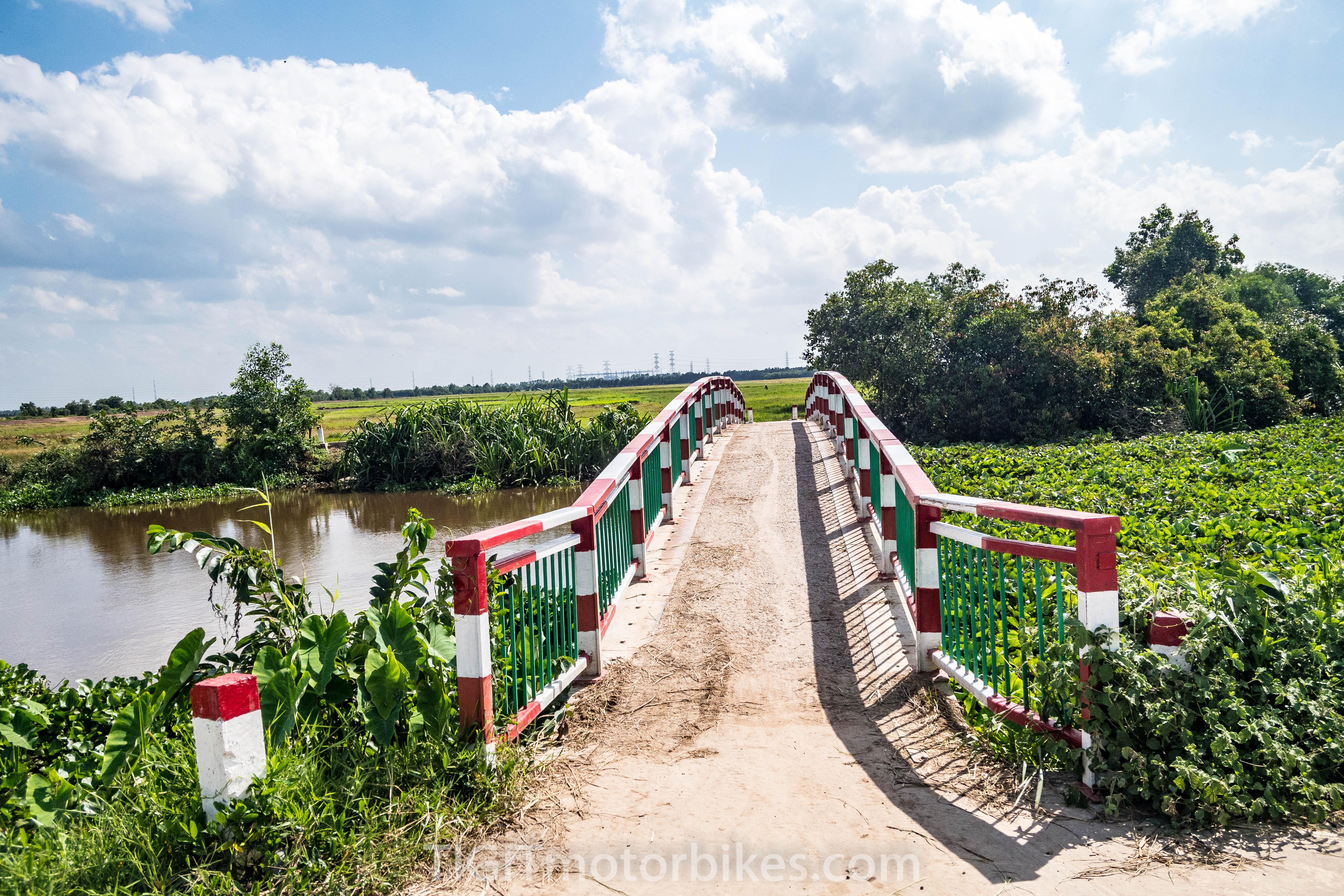 pretty bridge near cu chi