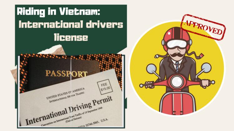 Riding in Vietnam: International drivers license info