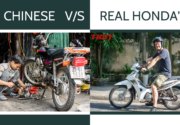 Chinese VS Real Honda's