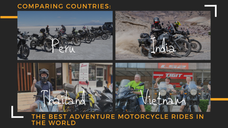 Comparing Countries: The Best Adventure Motorcycle Rides in The World