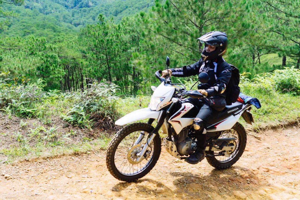 ベトナムのダートバイク