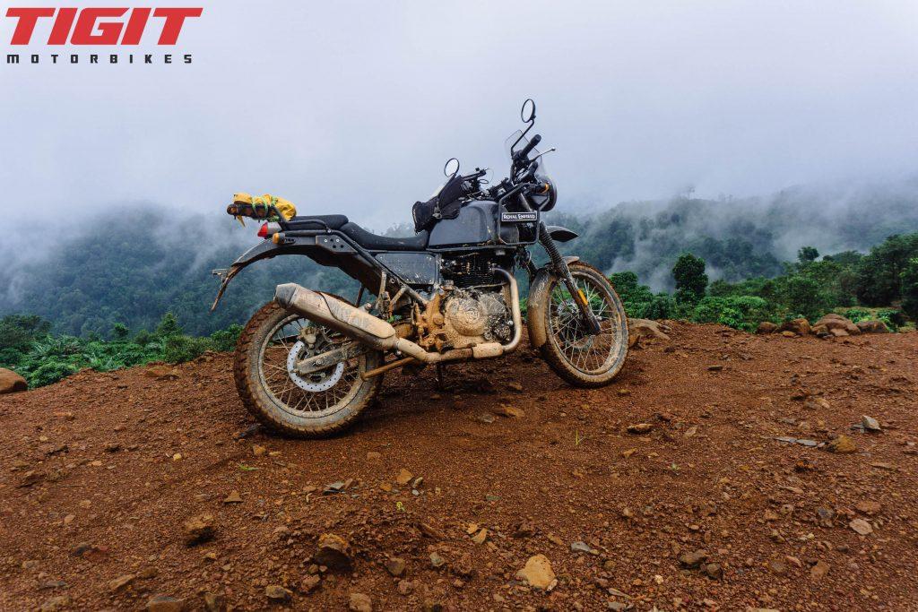 越南北部的大型摩托车