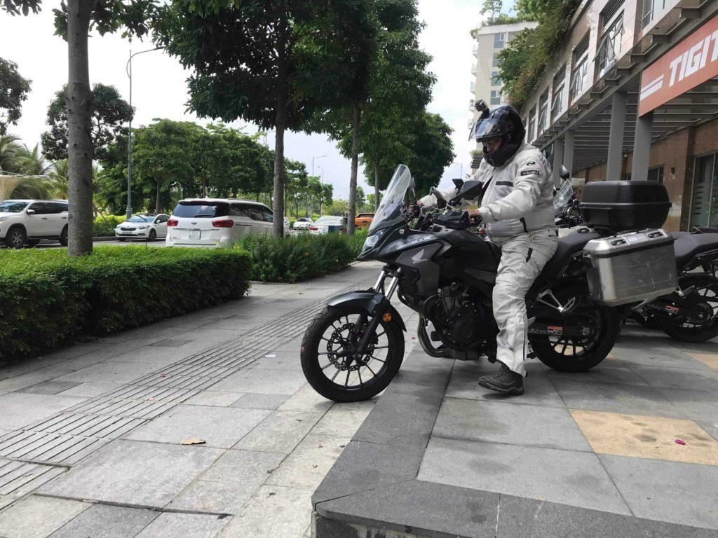 베트남에서 큰도 오토바이