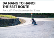 Danang to Hanoi the best route