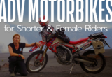 Popular ADV Motorbikes for Women and Shorter Riders