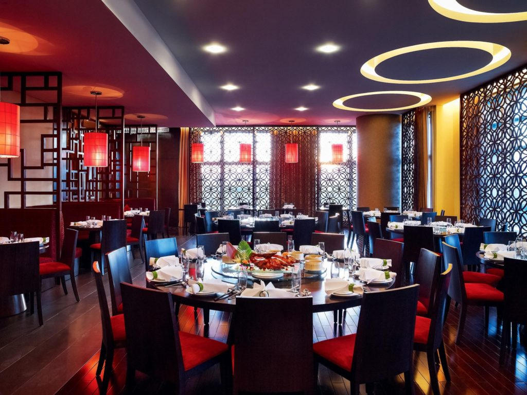 intercontinental dining room son tra