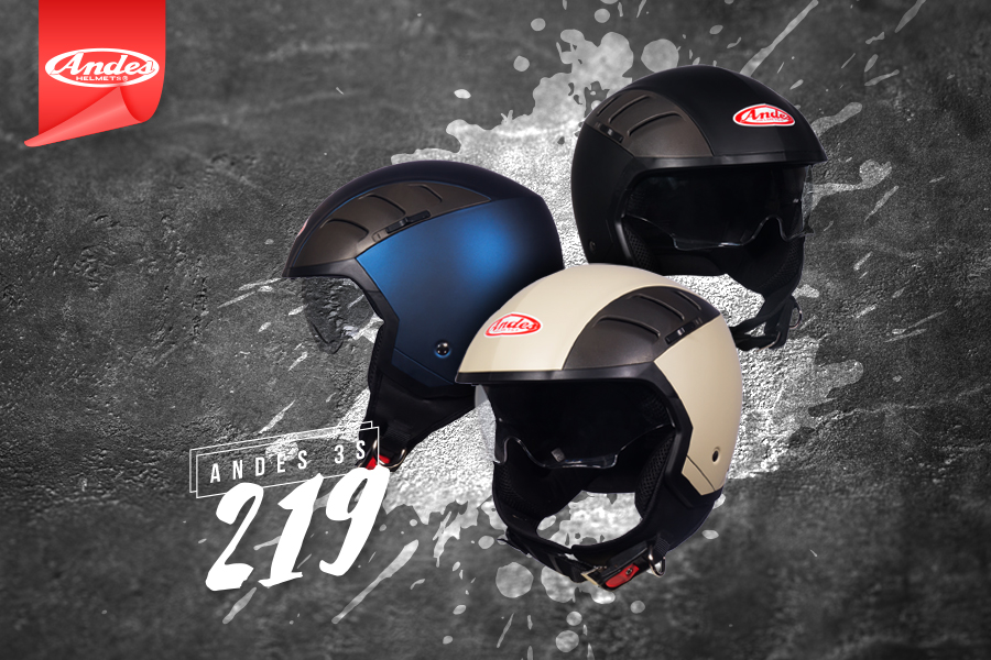 Mũ bảo hiểm Andes 3S 219