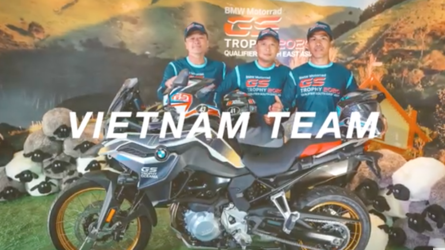 Team Vietnam BMW Trials