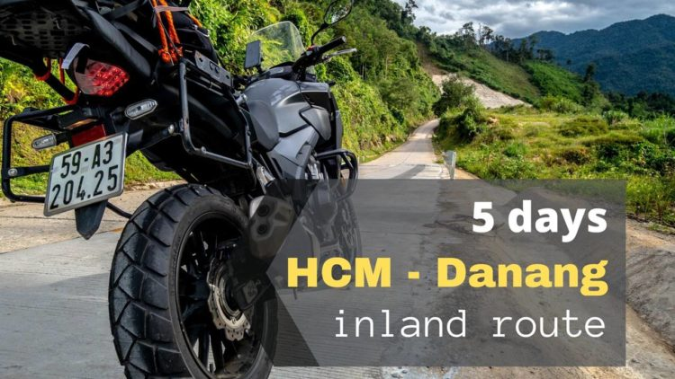 5 day Ho Chi Minh Danang Inland route
