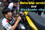 Motorbike Servicing and mechanic shop