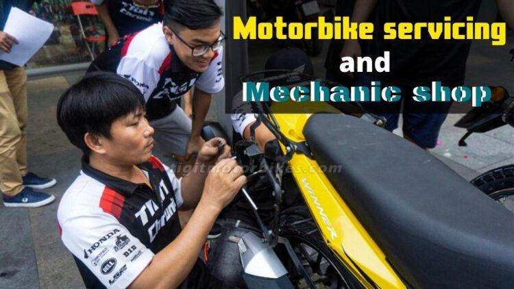 Motorbike Servicing and mechanic shop