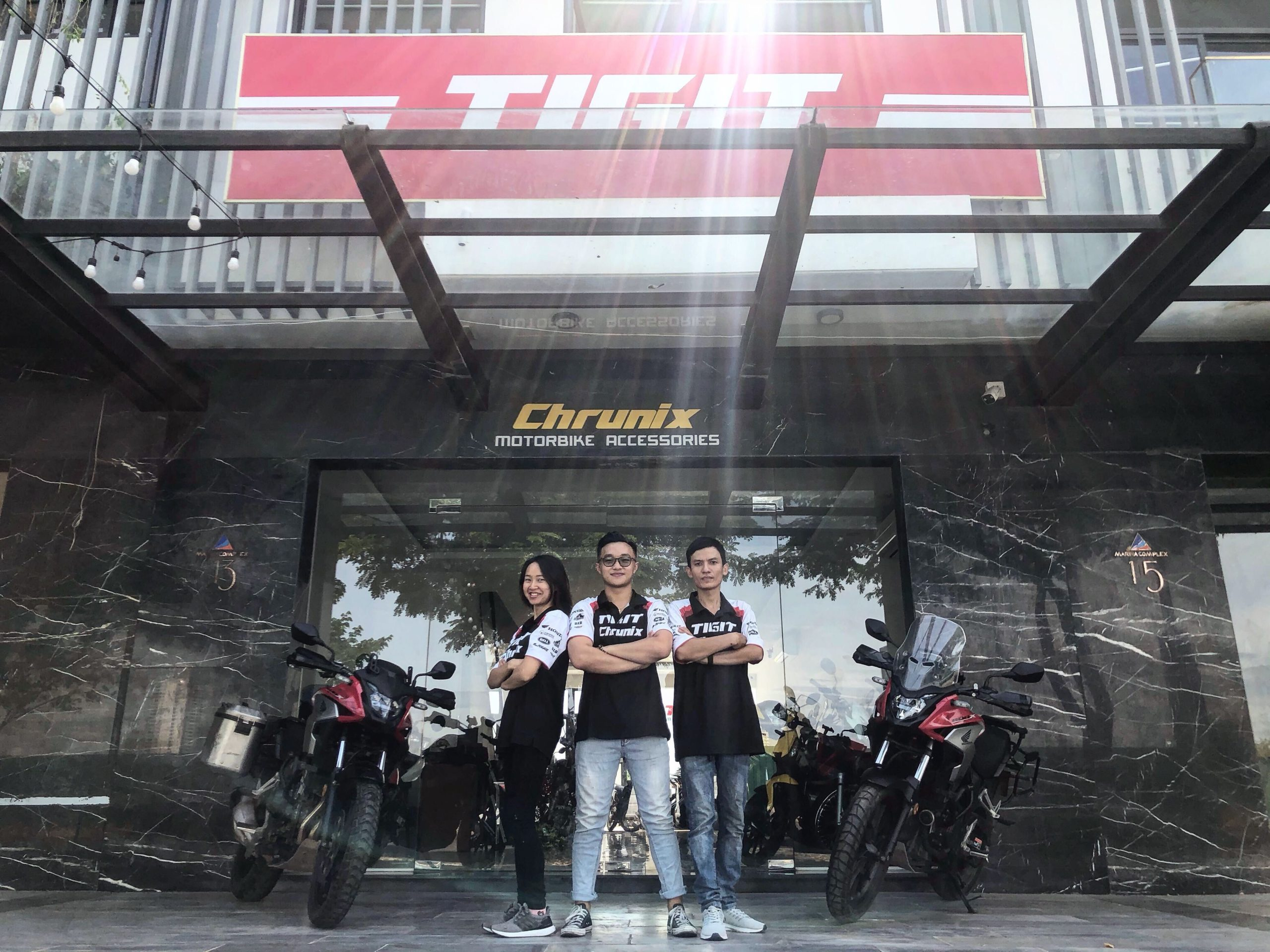 Danang motorbike rental office