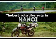 The best motorbike rental in Hanoi