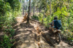 Offroad and Enduro motorbike Riding in South Vietnam