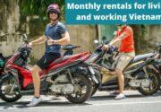 Monthly scooter rental Vietnam